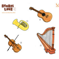 Secret Love 4 – compiled by Jazzanova & Alex Dallas cover art