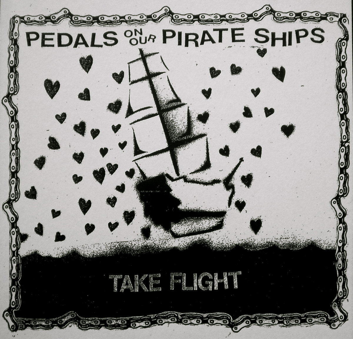 take flight | Pedals on our Pirate Ships