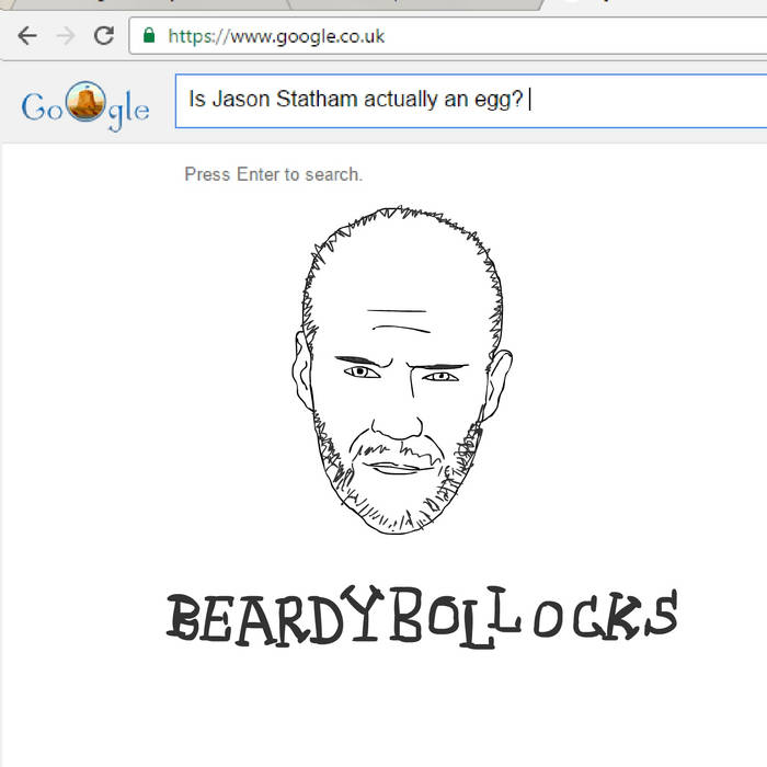 Beardy Bollocks – Is Jason Statham actually an egg?