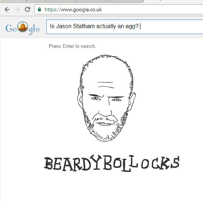Beardy Bollocks – Is Jason Statham actually an egg?