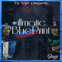 Nas and JayZ - The iLLmatic Blueprint cover art