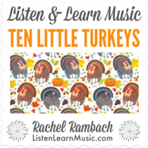 Ten Little Turkeys cover art