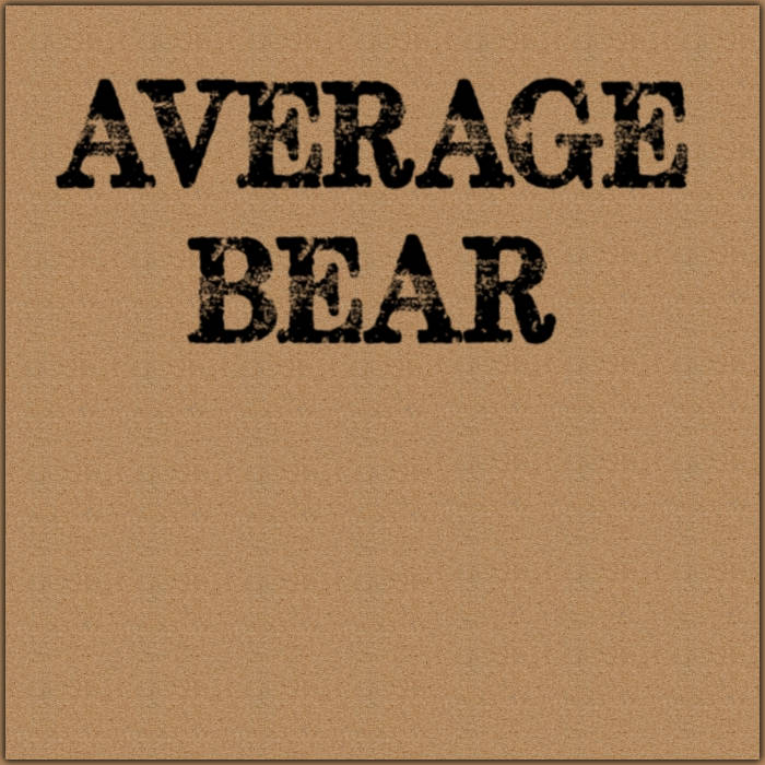 Average Bear cover art