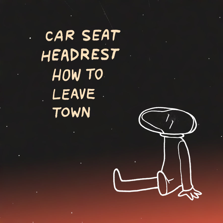How To Leave Town Car Seat Headrest