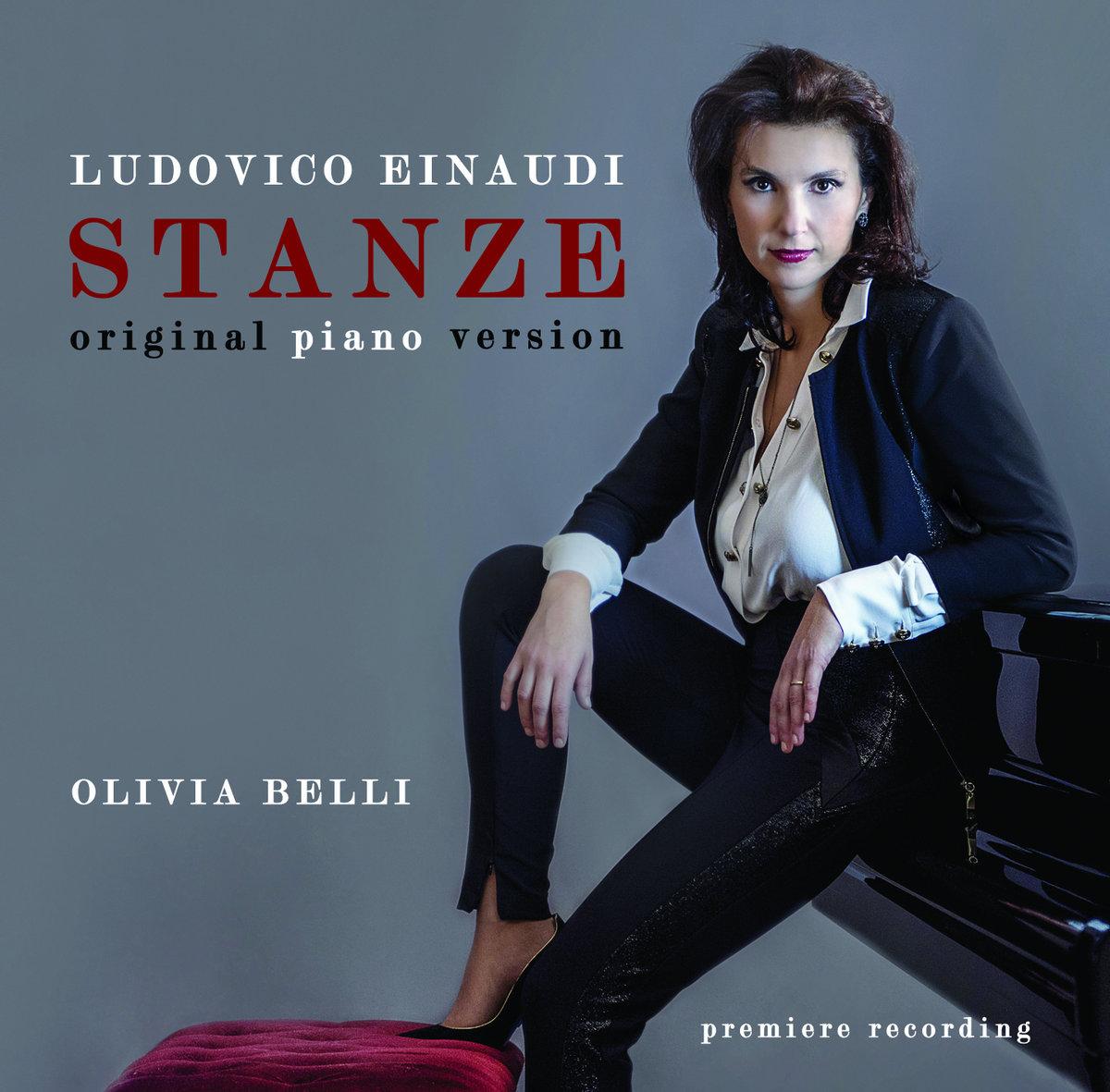 LUDOVICO EINAUDI: STANZE original piano version | OLIVIA BELLI
