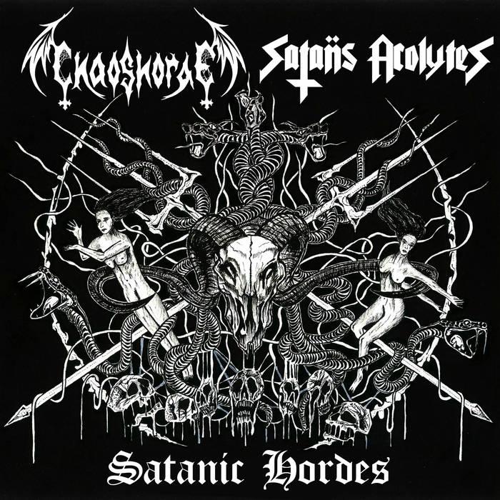 satanic hordes split speed metal thrash metal black metal punk
