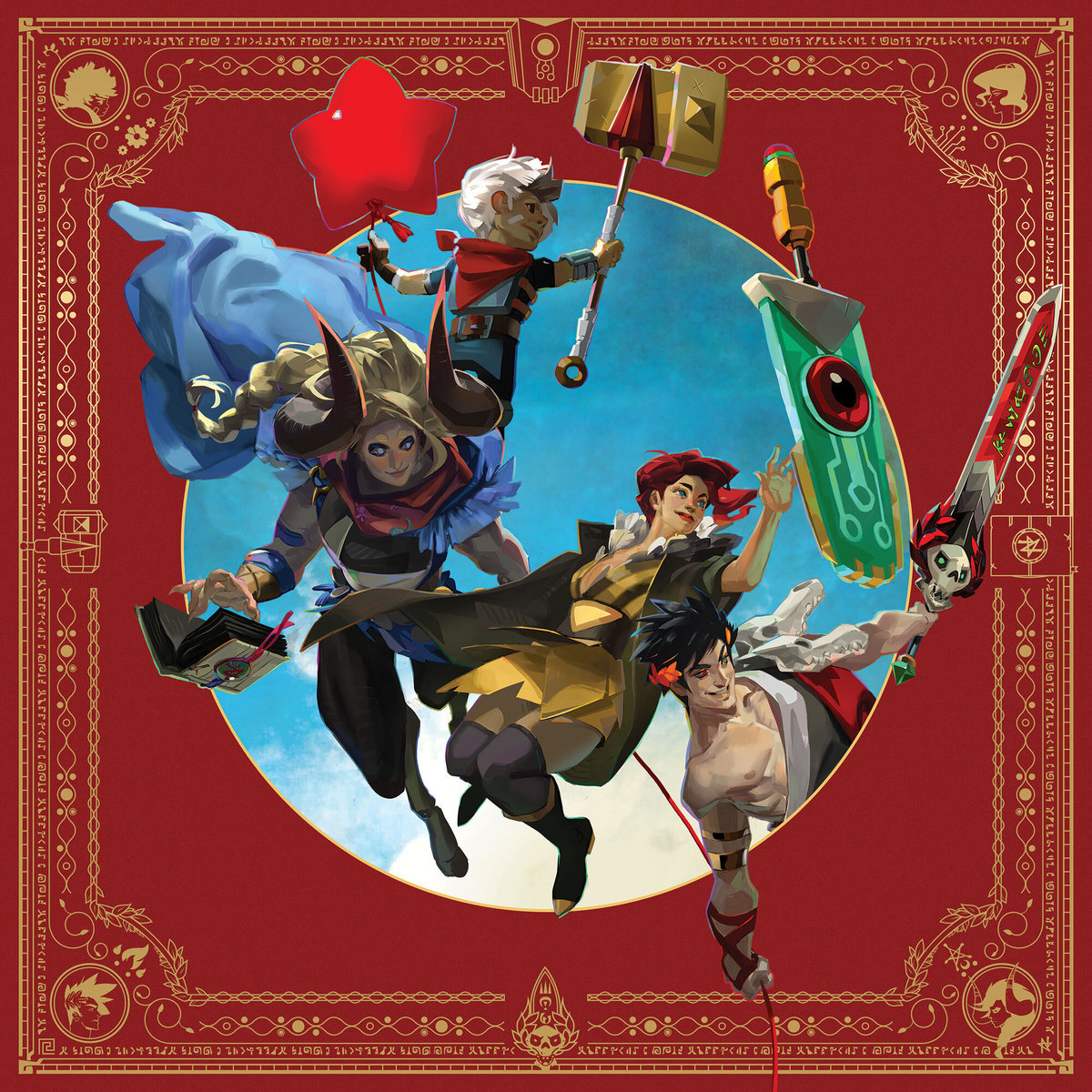 Songs of Supergiant Games Album Cover