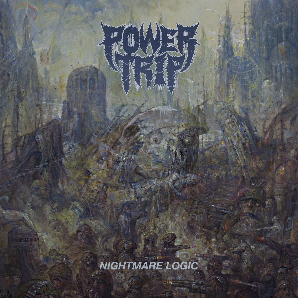 Image result for album art Power Trip: Nightmare Logic