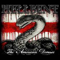 """HellBent - """"The American Demise"""" (2016) cover art"""