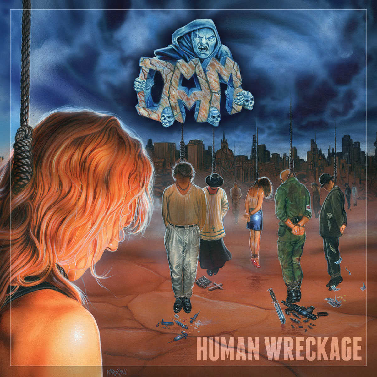 Human Wreckage | Tribunal + Divebomb Records