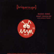 [BR059] : Manic Mind - Beat Crush EP [2020 Remastered Edition] cover art