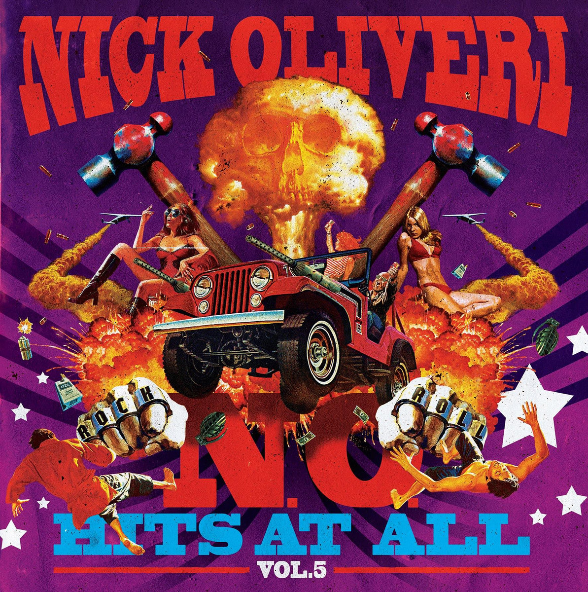 Image result for nick oliveri n.o. hits at all vol. 5