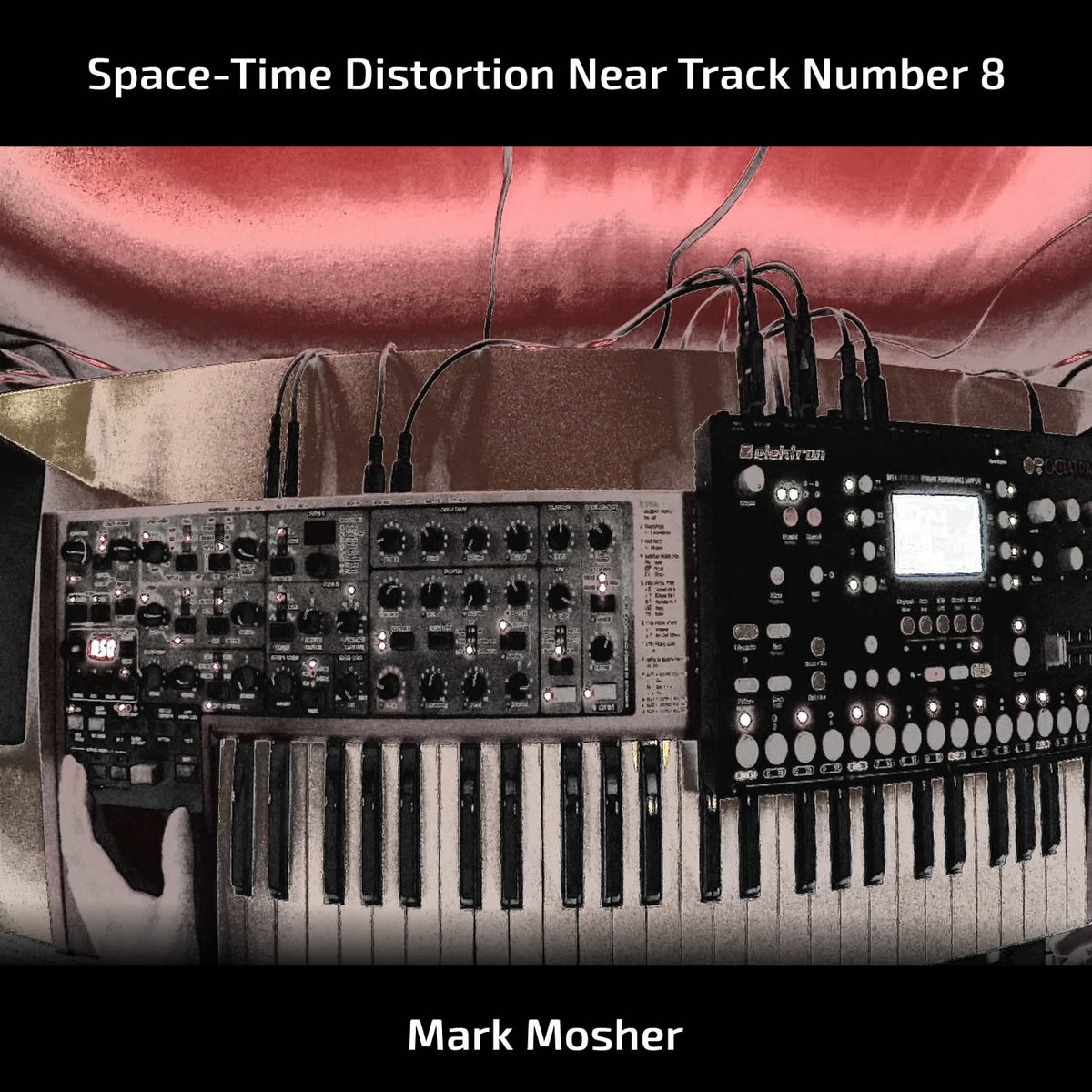 Space-Time Distortion Near Track Number 8 by Mark Mosher