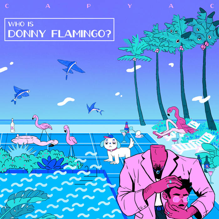 donny flamingo 12in