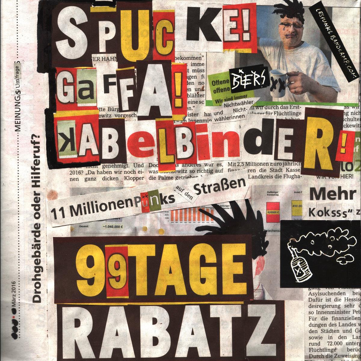 Spucke, Gaffa, Kabelbinder | lés pünks