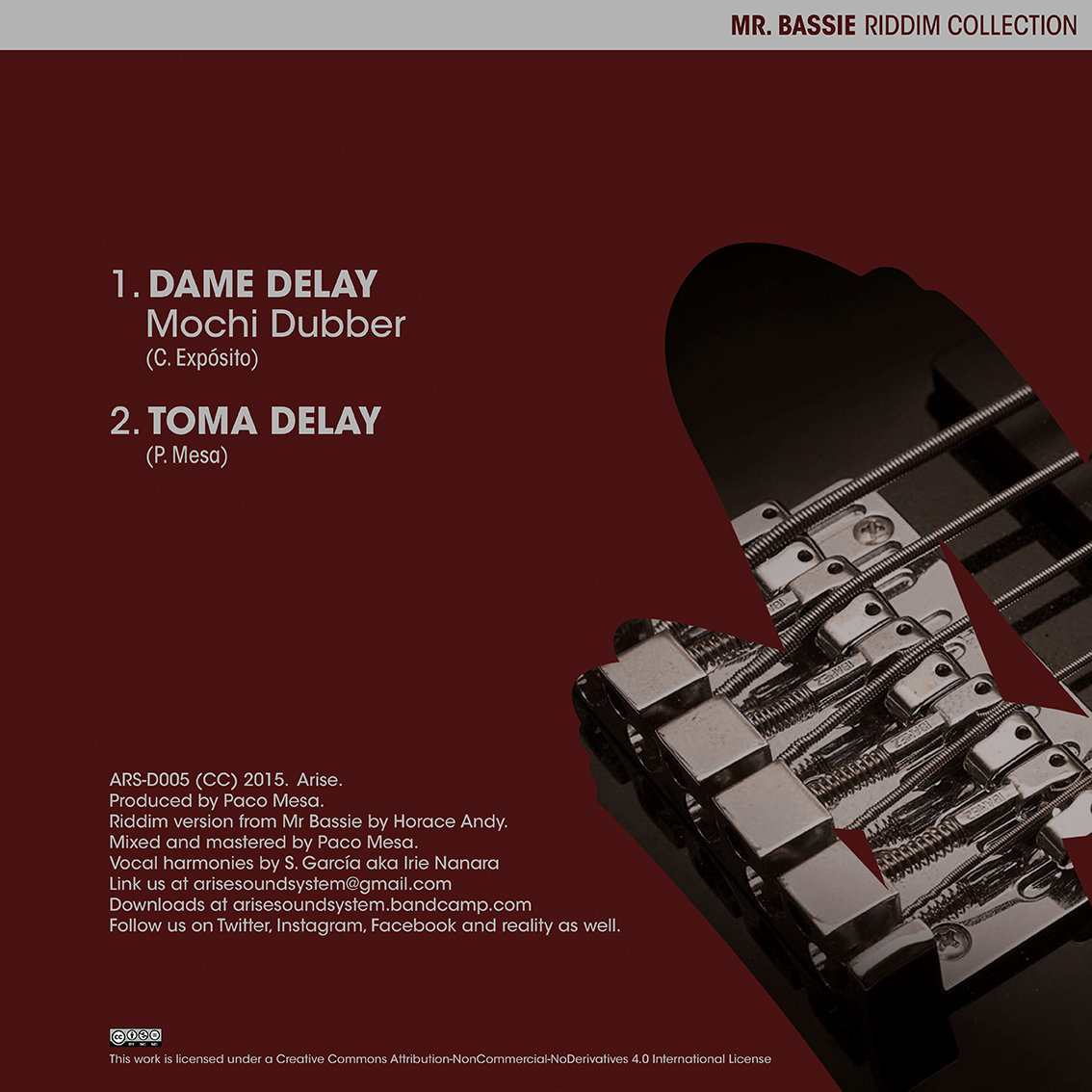 Toma Delay (Dub Version) | Arise (sound system and label)