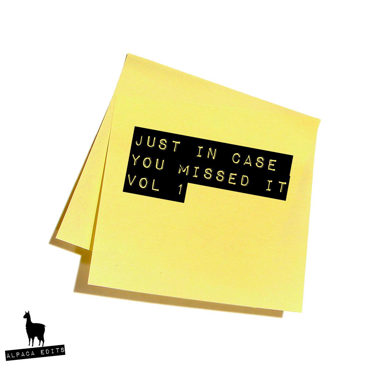 ef10841f04 Just in Case You Missed It Vol 1 | Alpaca Edits