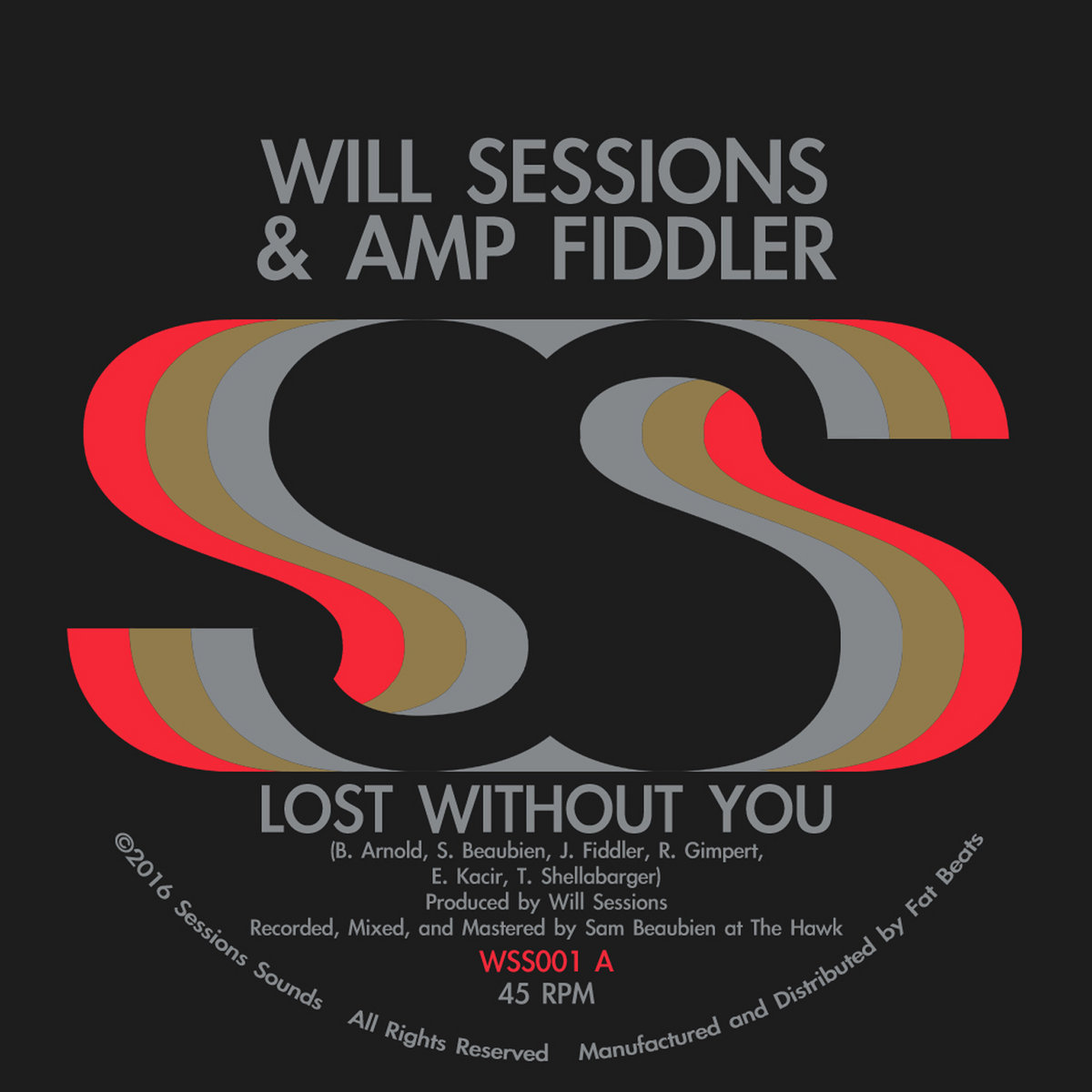 8b06472101d Will Sessions   Amp Fiddler - Lost Without you B W Seven Mile (7 ...