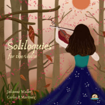 Soliloquies for the violin cover art