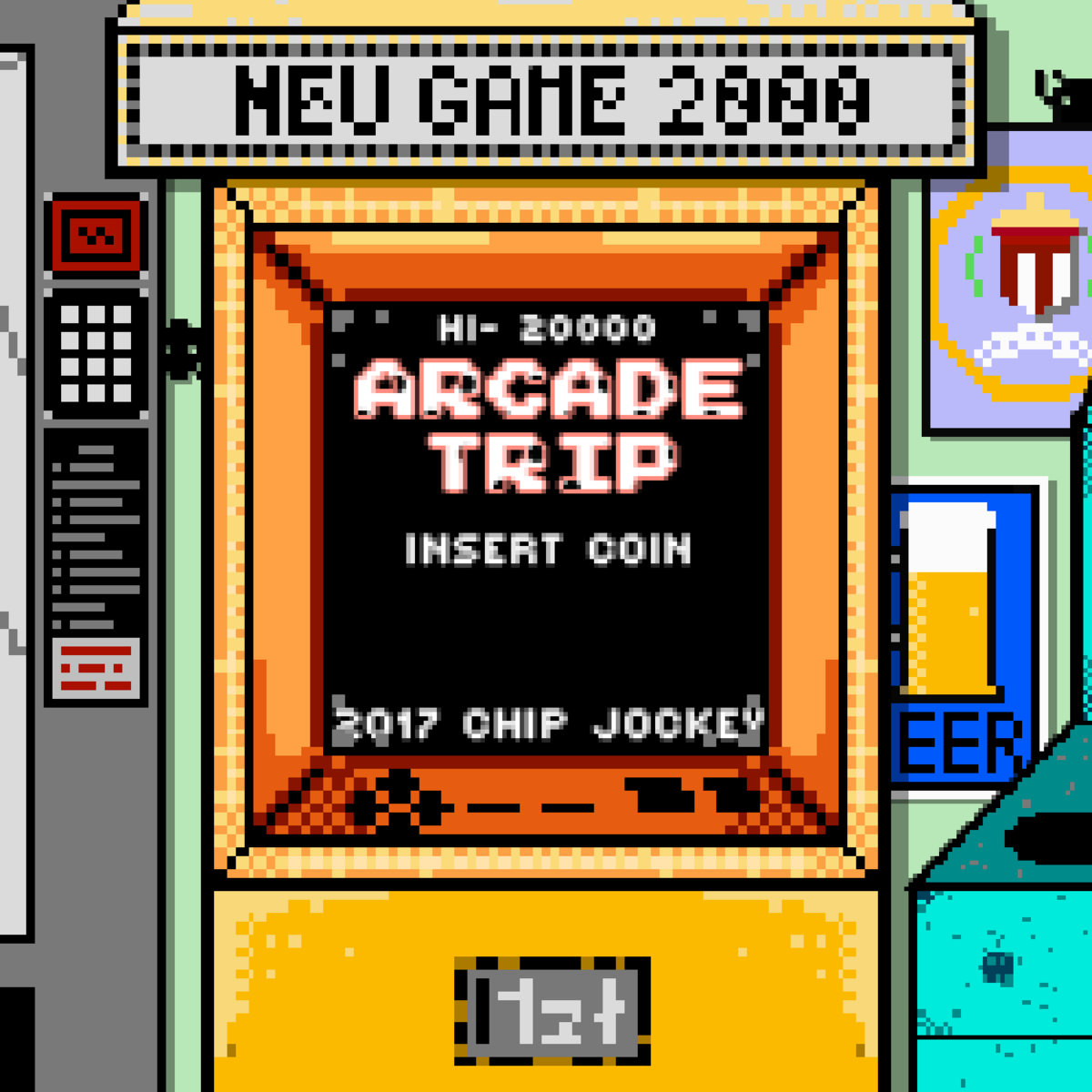 Arcade Trip | Chip Jockey
