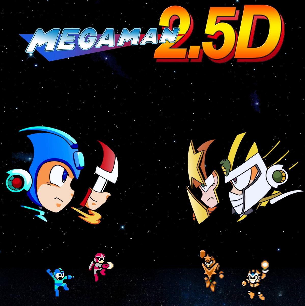 Mega Man 2 5D Contributions | TheMooseBlackburn