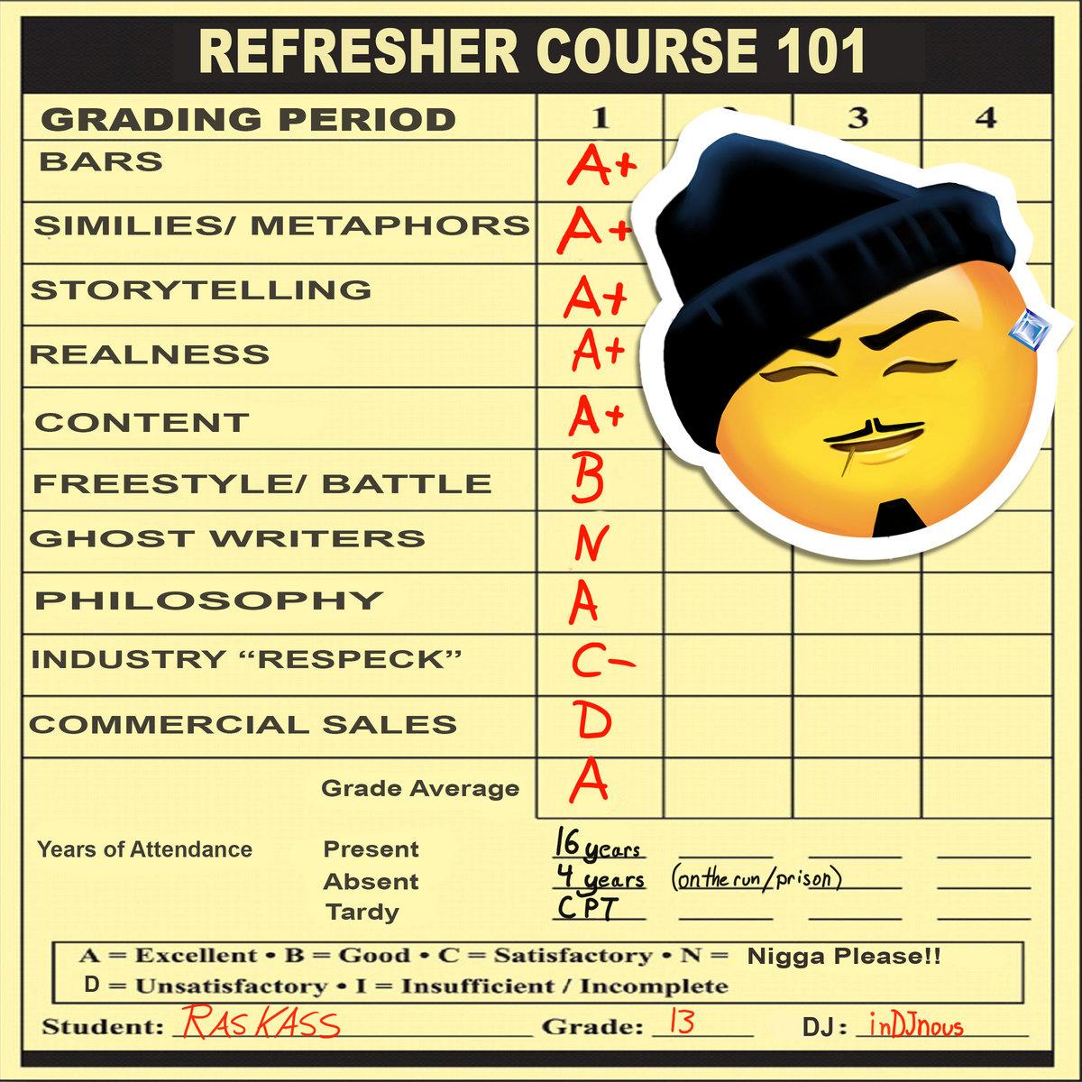 Resultado de imagen para Ras Kass - Refresher Course (Mixtape)