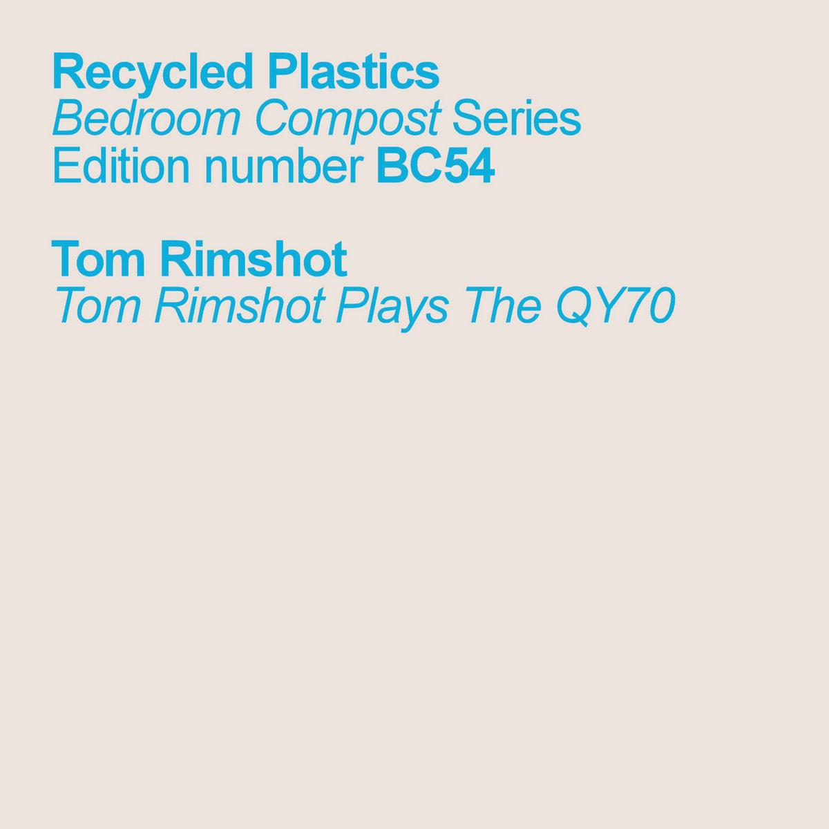 Tom Rimshot Plays The QY70 | Recycled Plastics