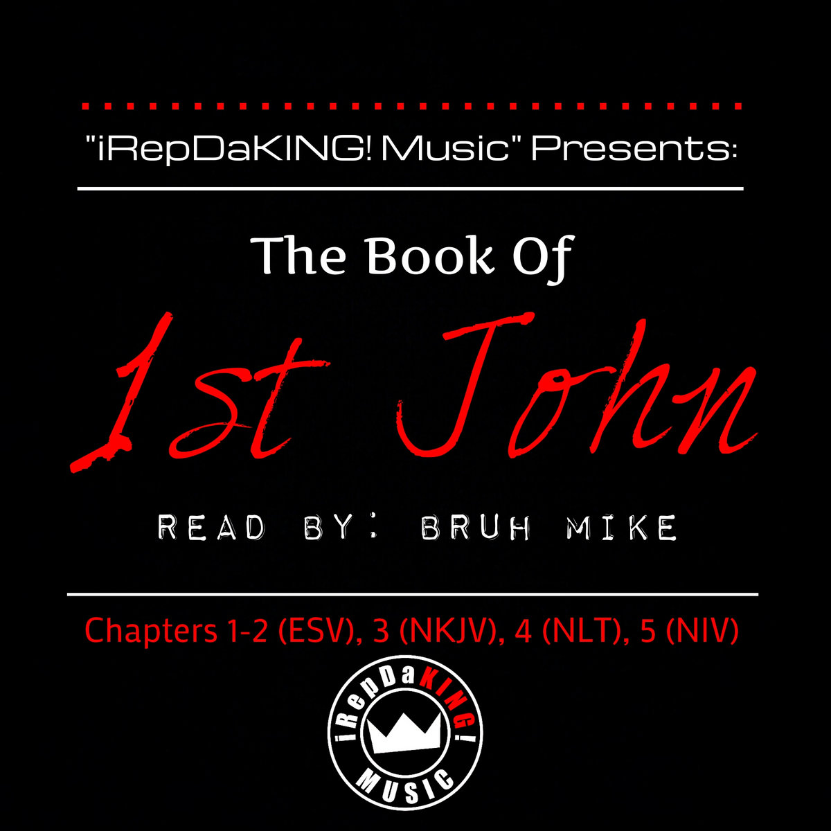 FREE) The Book of 1st John (Audio Bible) | Bruh Mike