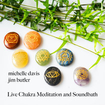 Live Chakra Meditation and Soundbath (See Notes) cover art