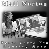 Never Leave You Wanting More cover art