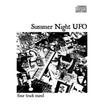 SUMMER NIGHT UFO - four track mind cover art