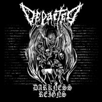 """Departed - """"Darkness Reigns"""" cover art"""