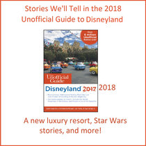 Disneyland Stories for the 2018 Unofficial Guide cover art