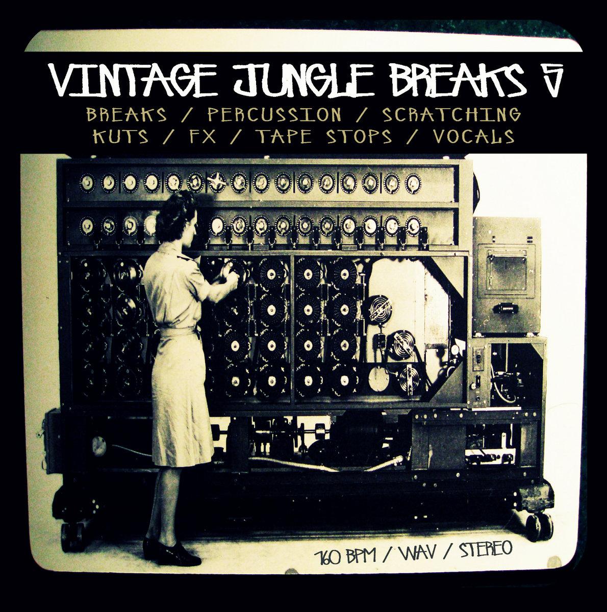 Vintage Jungle Breaks 5 | 6Blocc