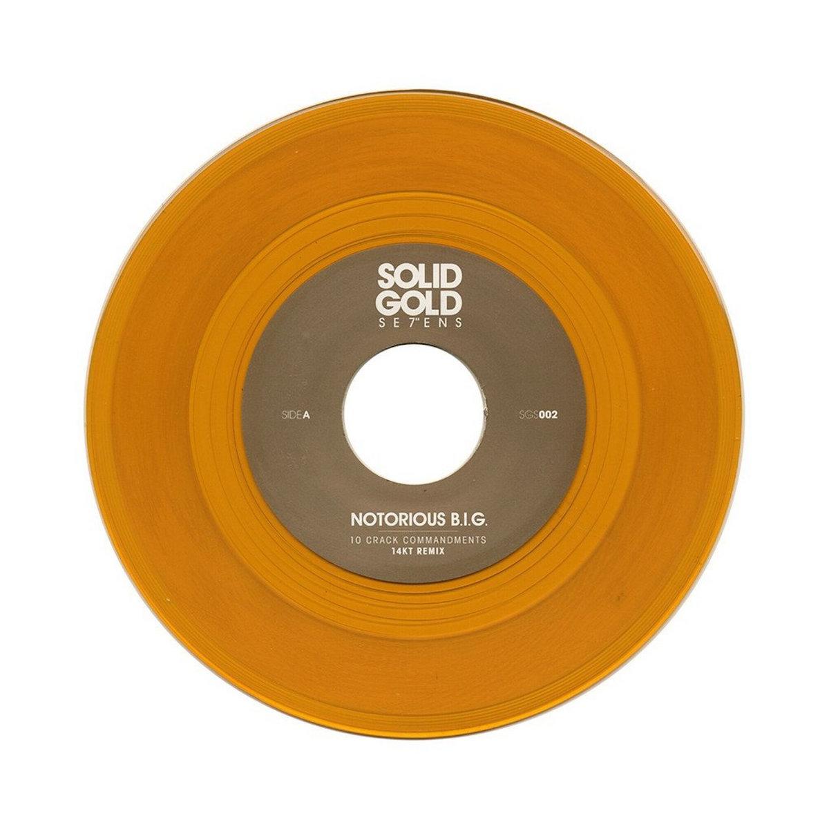 Solid Gold Se7ens #2 | 14KT II Karat Gold Music