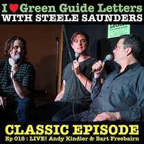 Ep 018 : LIVE! Andy Kindler & Bart Freebairn love the 29/03/12 Letters cover art