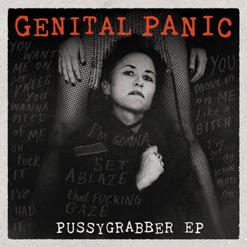 Pussygrabber EP Flexi-Disc Book by Genital Panic (the band)