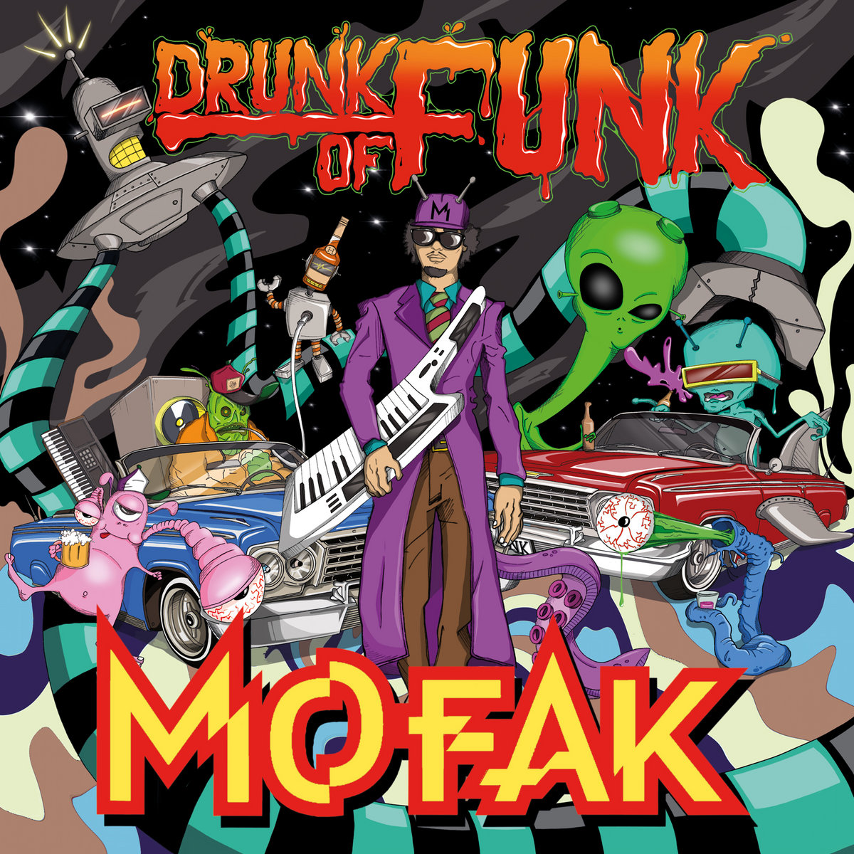 Drunk Of Funk | The Sleepers RecordZ