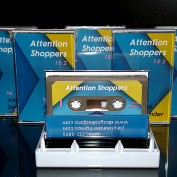 Attention Shoppers (Cassette Culture Mixtape) by Jaro Sounder
