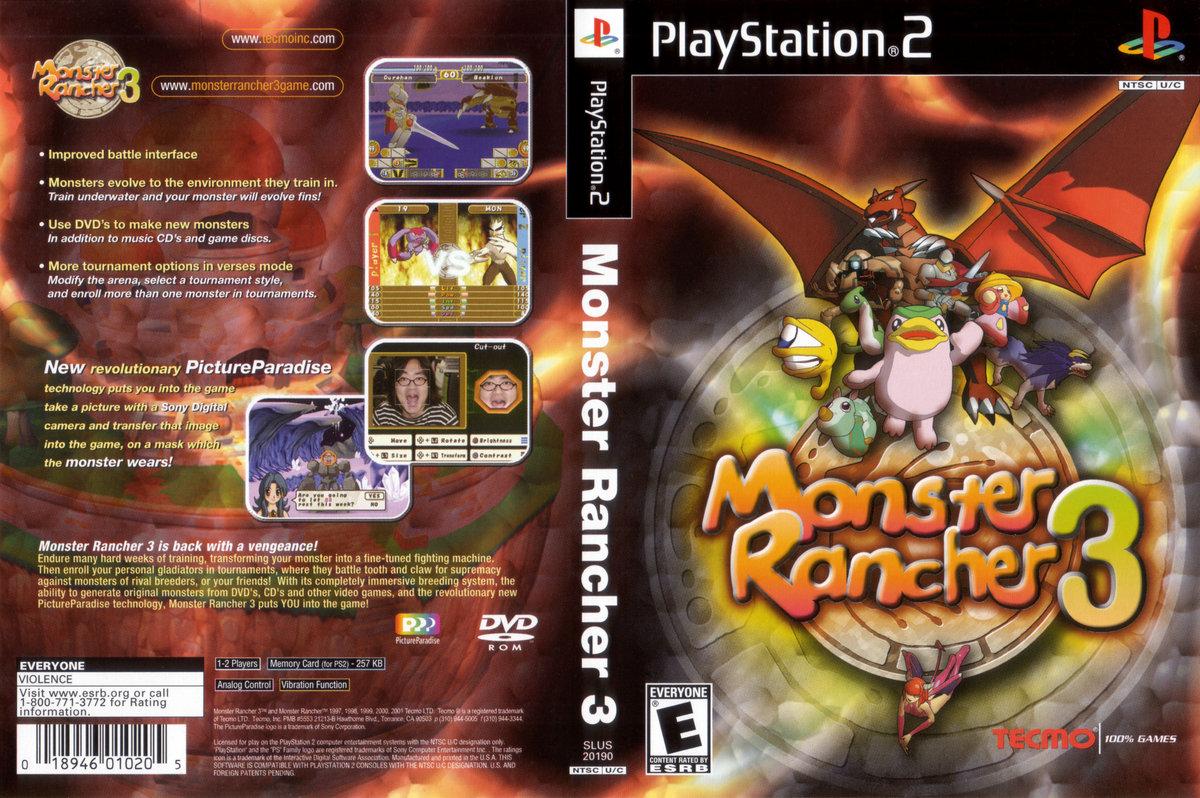 Monster Rancher 2 Psp Eboot