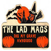 The Lad Mags Halloween EP Cover Art