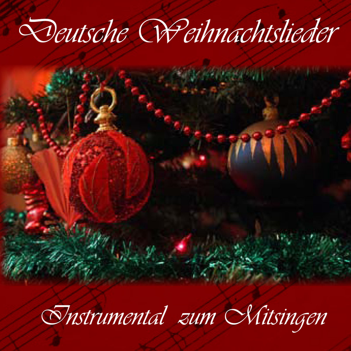 Deutsche Weihnachtslieder (Instrumental zum Mitsingen) | BOB-MEDIA