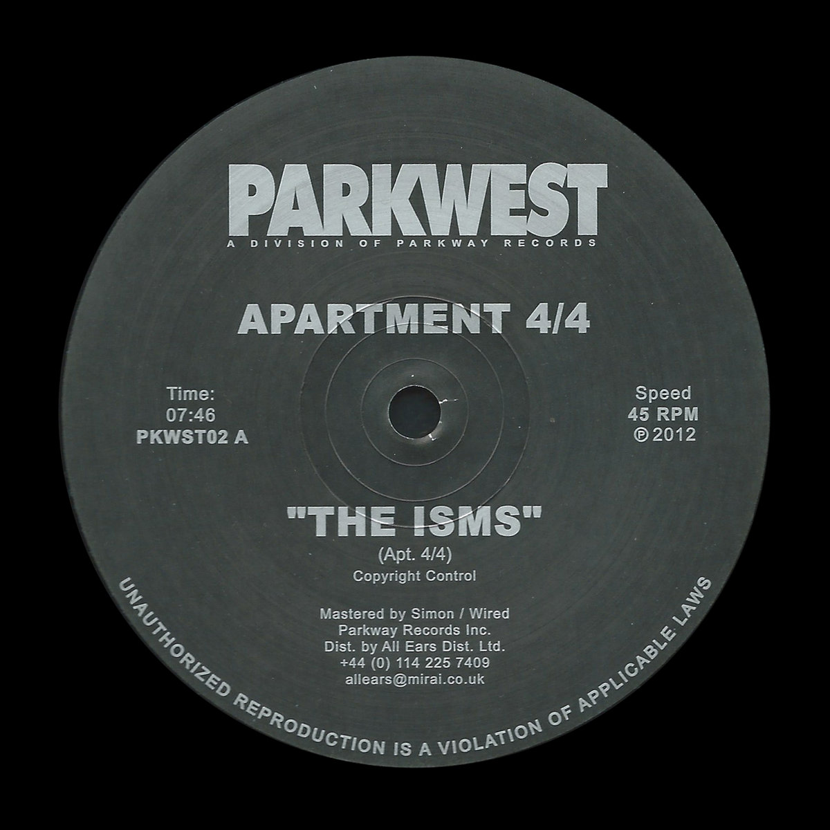 The Isms / City Dreems | Parkway Records