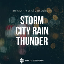 Storm Rain And Thunder Sounds From Split Croatia cover art