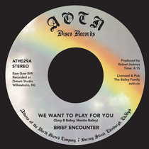We Want To Play For You / Sweet Tender Loving cover art
