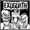 """EXOGORTH/ BANGSAT split 7"""" Cover Art"""