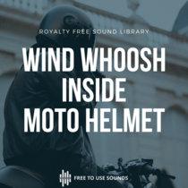 Whipping Wind Sounds Under Motorbike Helmet cover art