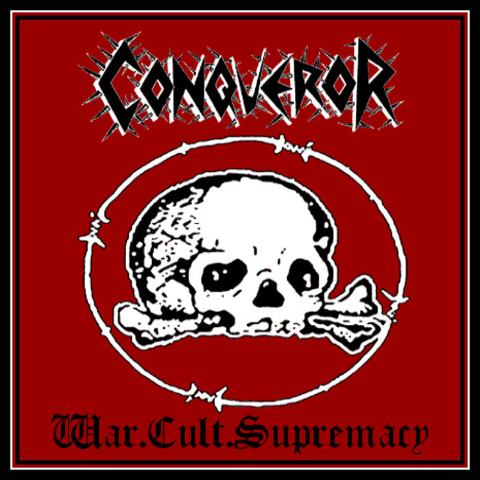 CONQUEROR WAR CULT SUPREMACY BLACK METAL LE SCRIBE DU ROCK