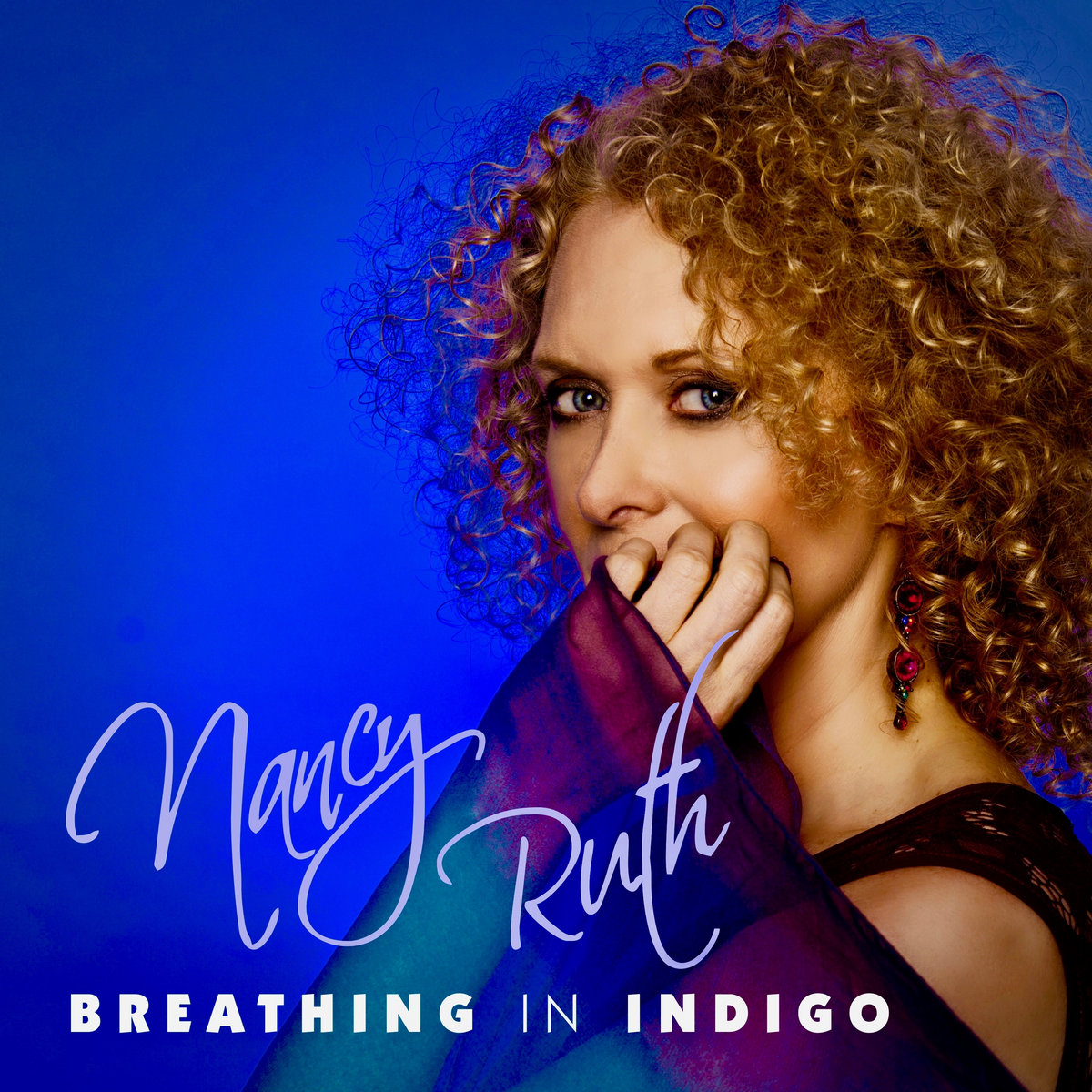 Breathing In Indigo by Nancy Ruth
