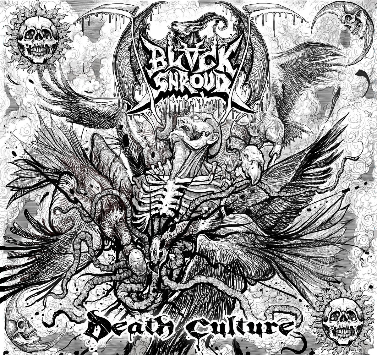 Black Shroud 'Death Culture' CD